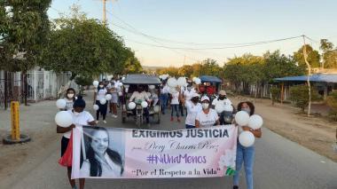 Con manifestación, familiares de abogada asesinada exigen justicia