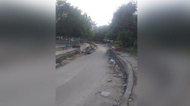 Basuras en Las Moras se vuelven un dolor de cabeza para la comunidad