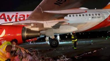 Aerocivil investiga emergencia de avión de Avianca generada por un globo