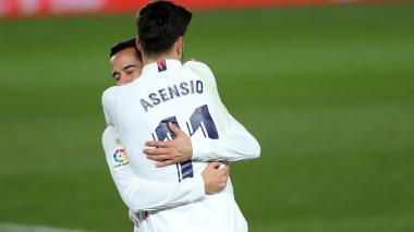 El dúo Lucas Vázquez-Asensio impulsa al Madrid