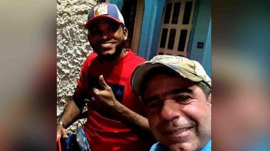 Miguel borja junto al exalcalde Alejandro Char y su representante Juan Pablo Pachón.