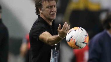 Alexi Stival , director técnico de el Santos brasileño.