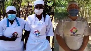 Manipuladoras de alimentos en Sucre reclaman el pago de sus salarios