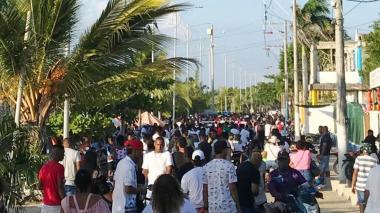 El descontrol en Tolú en medio de la pandemia