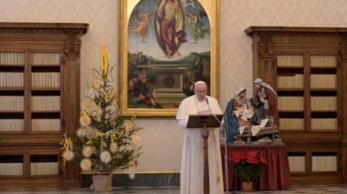 El papa pide fraternidad entre culturas y religiones en primer vídeo de 2021