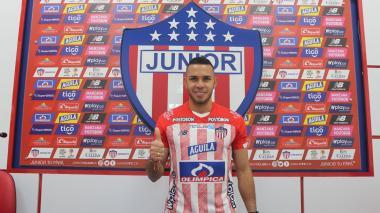Eder Chaux llega procedente del América de Cali tras la temporada de 2020.