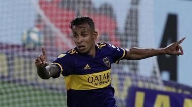 Sebastián Villa, uno de los cuatro colombianos de Boca Juniors.