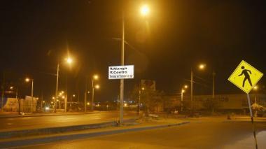 Afinia asumió suministro de energía para alumbrado público de Cartagena