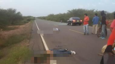 Asesinados dos hombres entre Manaure y el Pájaro en La Guajira