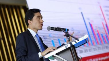 El director de Fedesarrrollo, Luis Fernando Mejía.