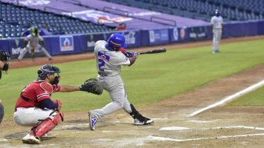 Dilson Herrera, segunda base, jugó agresivo y en sus pies llegó la carrera de la ventaja en el séptimo inning.