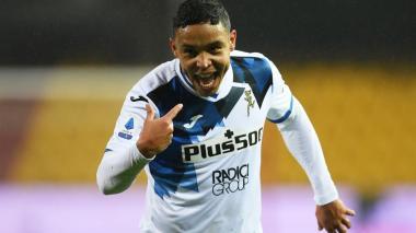 Luis Fernando Muriel, activo con su racha goleadora en la Serie A