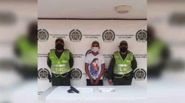 Los capturan por porte ilegal en Puebloviejo y Cordobita