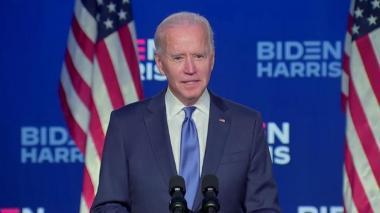 Biden dice que no tiene miedo de jurar su cargo al aire libre el día 20