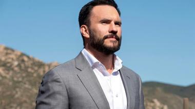 Juan Pablo Raba y su personaje criminal en 'Coyote'