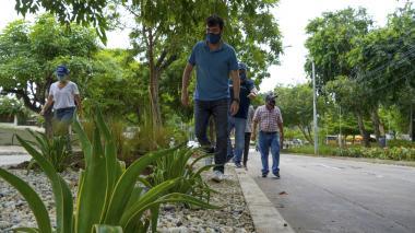 2,5 km de andenes serán recuperados en Barranquilla