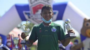 Dominic Hernández fue campeón con Rey Pelé, goleador y el jugador más técnico.