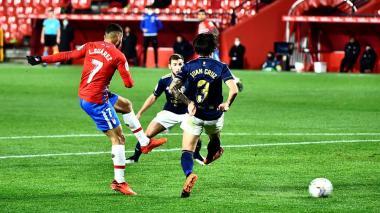 El Granada vende por 2-0 al Osasuna.