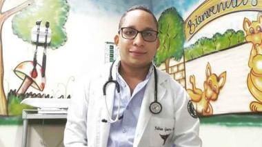 El médico Fabián Guerra Ortiz.