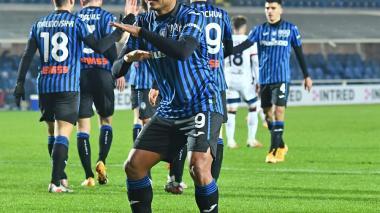 Luis Fernando Muriel lanza al Atalanta a cuartos de la Copa Italia