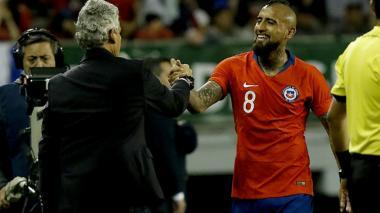 El adiós de Vidal a Rueda: es una pena, lo quiero mucho y le deseo lo mejor