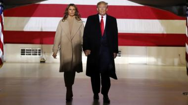 Trump se despedirá de la Presidencia en su club de Florida