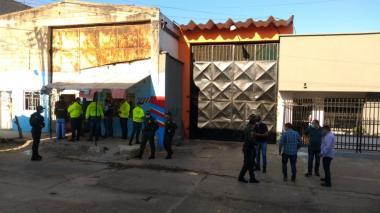 Residencia donde capturaron a los presuntos autores del ataque con granada en el Centro.