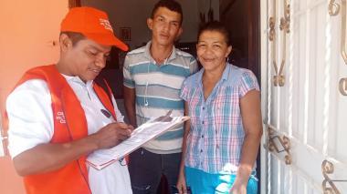 En el Magdalena buscan alumnos casa a casa