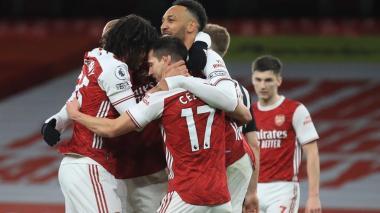El Arsenal sube hasta la décima posición.