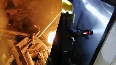 Incendio consume media casa en Soledad