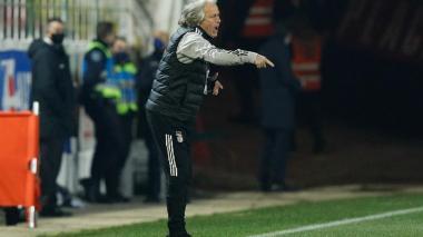 Jorge Jesús, actual técnico del Benfica.