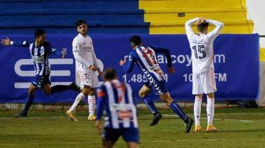 ¡Papelón! El Alcoyano, equipo de tercera división, elimina al Real Madrid