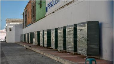 'Callejón' para vendedores de frutas y verduras en el Centro