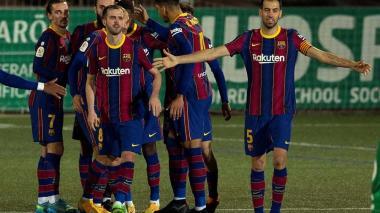 El Barcelona se salva en la prórroga