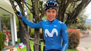 """""""Espero tener oportunidades en el Tour, no pinta tan duro"""": Supermán López"""