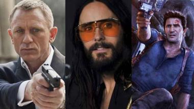 """Hollywood se ahoga en atrasos: se aplazan James Bond, """"Morbius"""" y """"Uncharted"""""""