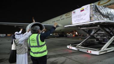 Comienza distribución de implementos médicos donados por Emiratos Árabes