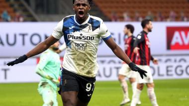 En video | Duván Zapata marca gol en triunfo 3-0 del Atalanta ante Milan