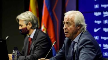 Carlos Tusquets, presidente de la Comisión Gestora del Fútbol Club Barcelona.