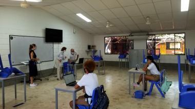 11 colegios privados de Cartagena arrancaron piloto de clases presenciales