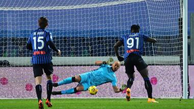 Muriel y Zapata avanzan a las semifinales de la Copa de Italia