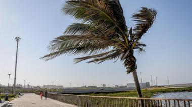 Ideam alerta por fuertes vientos en la región Caribe