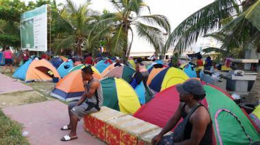 Emergencia en Necoclí por represamiento de migrantes