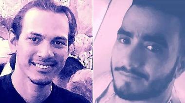 Víctor Manuel Torres y Andrés Eloy Nieves Zacarías, víctimas del asesinato.