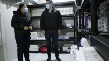 Habilitan cuarto frío para vacunas contra el coronavirus en Montería