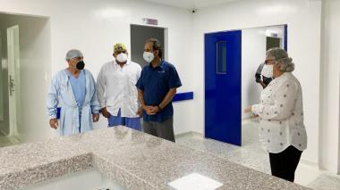 La Supersalud inspeccionó la UCI del Hospital de Sincelejo