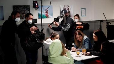 Rodajes y sets cinematográficos convertidos en búnkeres en la era de la Covid