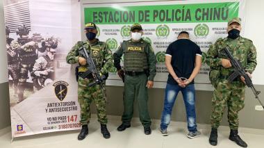 Ejército capturó a presunto sicario del 'Clan del Golfo' en Córdoba