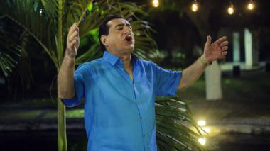 Jorge Oñate, de 70 años, canta música vallenata hace 53 años.