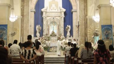 En Riohacha celebración atípica de la Virgen de los Remedios